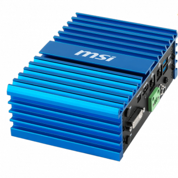 IEC 61373 Compliant Fanless Palm-Size Box PC with Intel® Apollo Lake